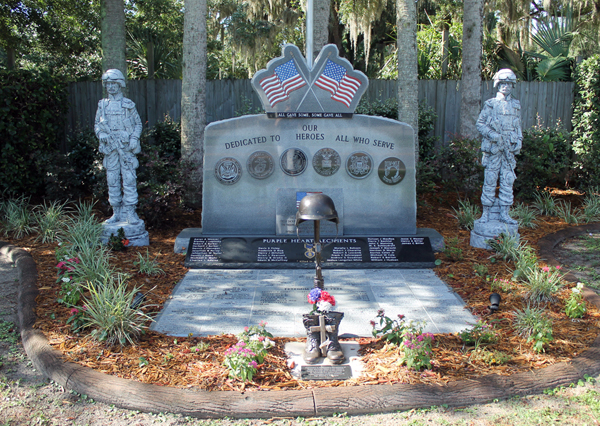Old Homosassa Veterans Memorial